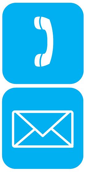 電話メールのイラスト